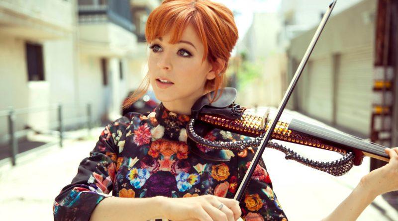 Popular electric violinist Lindsey Stirling