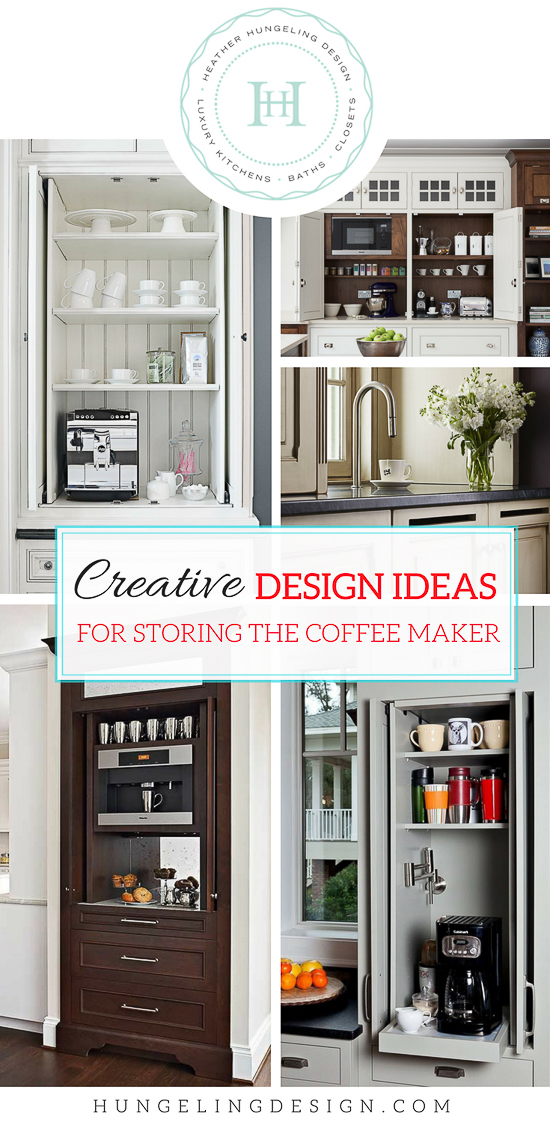 Some may argue that the coffee maker is the most important appliance in their kitchen. For the average household, it is the most consistently used appliance so it should be given due consideration when building or remodeling your next kitchen. In this post, I've rounded up some of my curated ideas for designing a coffee station for the luxury home.