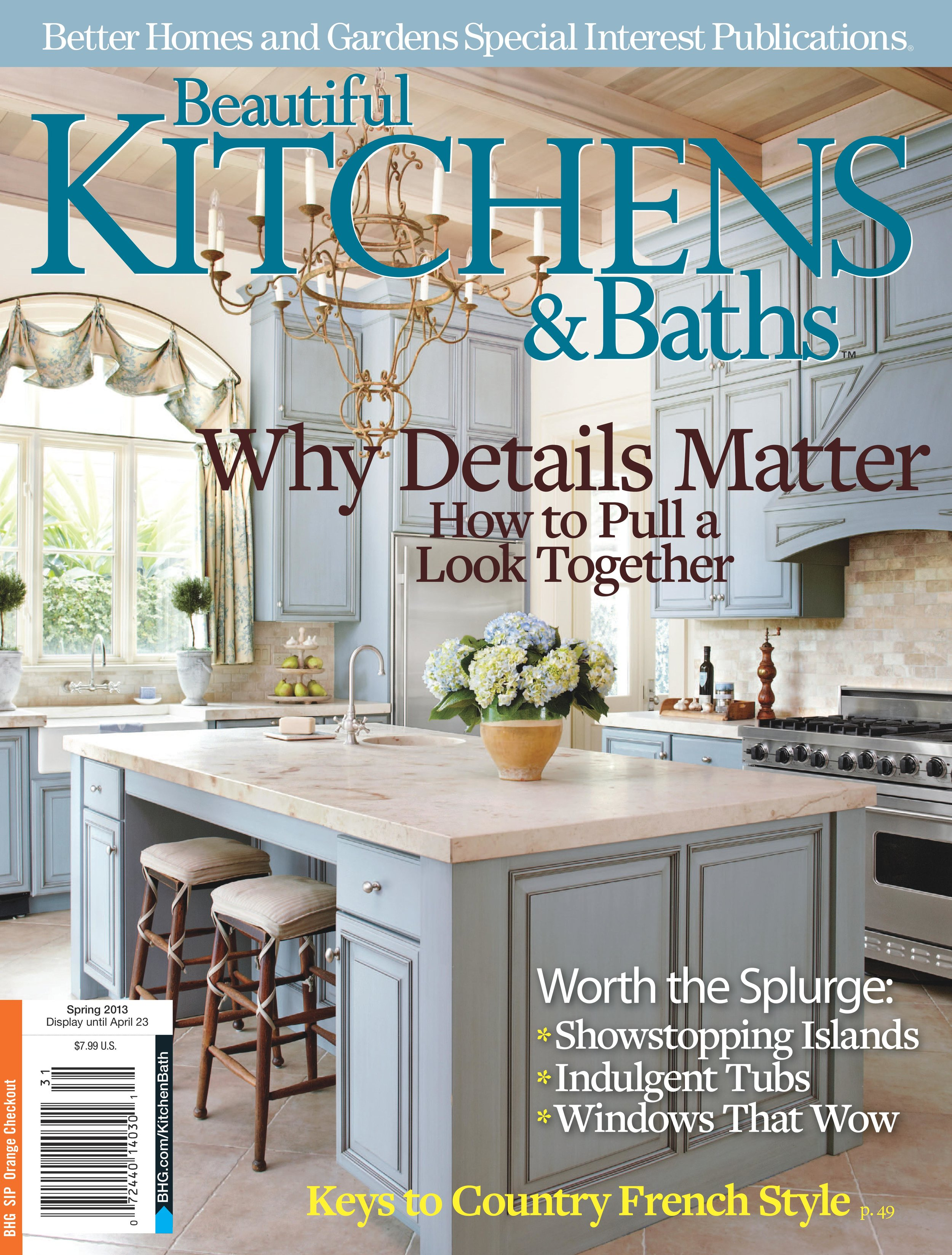 fEATURED: - This kitchen was featured in the 2013 Spring issue of Beautiful Kitchens and Baths. If you'd like to view the article, please click here.