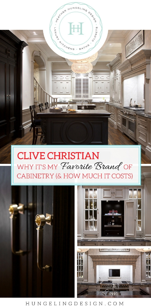 Brand Focus: Clive Christian.   Read about why this is my favorite top tier brand to recommend to clients and how much it really costs.