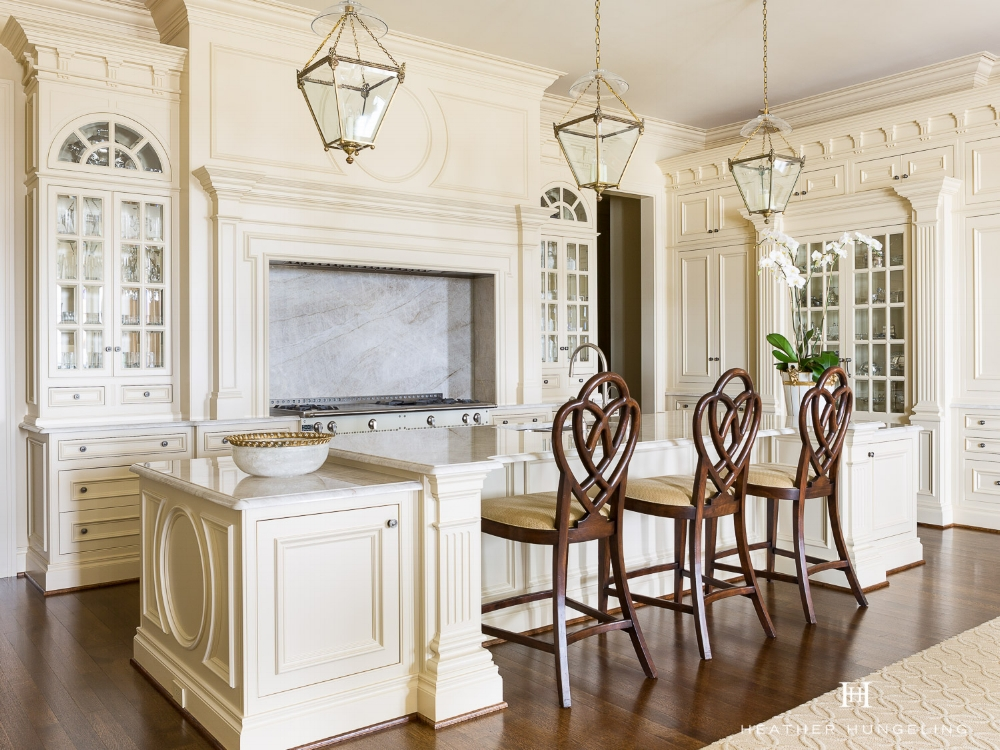 """"""" When to hire a kitchen designer """" is a lot like the question """" when is the best time to plant a tree? """" Twenty years ago is the answer to the latter question (just in case you aren't familiar with the saying). As for the answer to that first question...well, if you find yourself staring at a bunch of 2x6's that loosely resemble the shape of your future home and you still haven't hired a  kitchen designer , then you're behind the eight ball my friend. However, you have plenty of company, because that's a big mistake that we see homeowners make a lot in our business. So today I'm going to make a case for why you need a kitchen and bath designer on board with your project as soon as possible."""