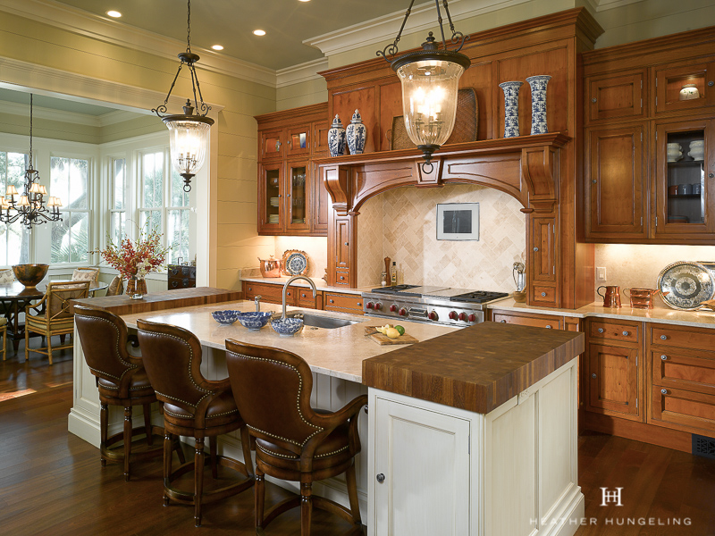 Framed, inset door-style of cabinetry is the hallmark of a luxury kitchen.  If you also select a shaker-style door, it will provide your dream kitchen with years of life as this style never falls out of trend.