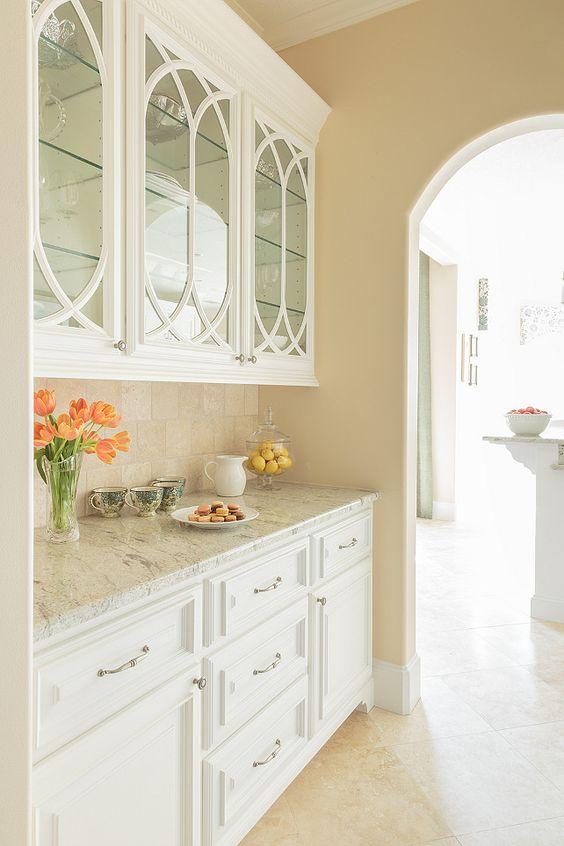 With Glass Cabinet Doors, Kitchen Cabinet Glass Door Options