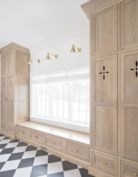 Fretwork cut-outs are one of many different ways that you can use interesting cabinet door styles to bring personality to your next kitchen.
