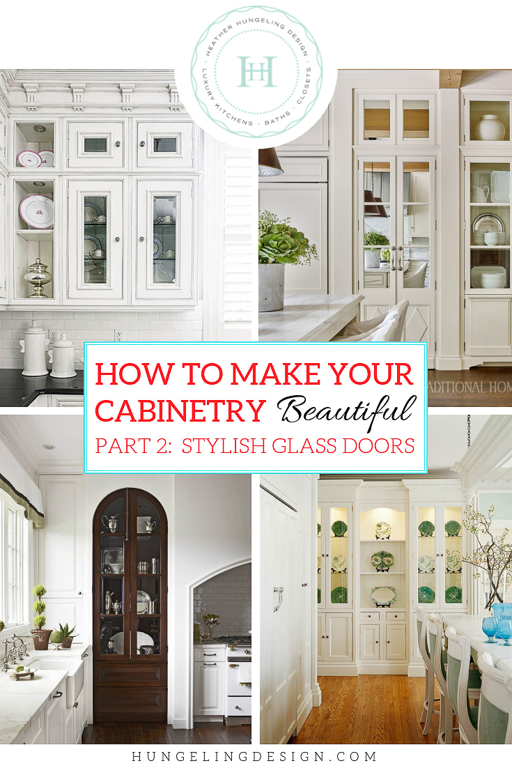Kitchen Cabinets With Glass Doors On Top How to Make Your Kitchen Beautiful with Glass CabiDoors