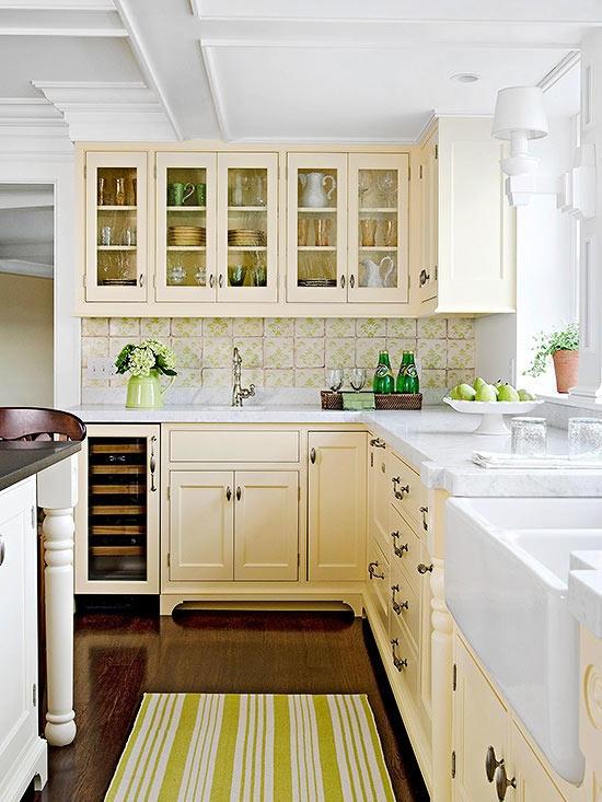 Love Cream Kitchen Cabinets, Cream Kitchen Cupboards White Tiles