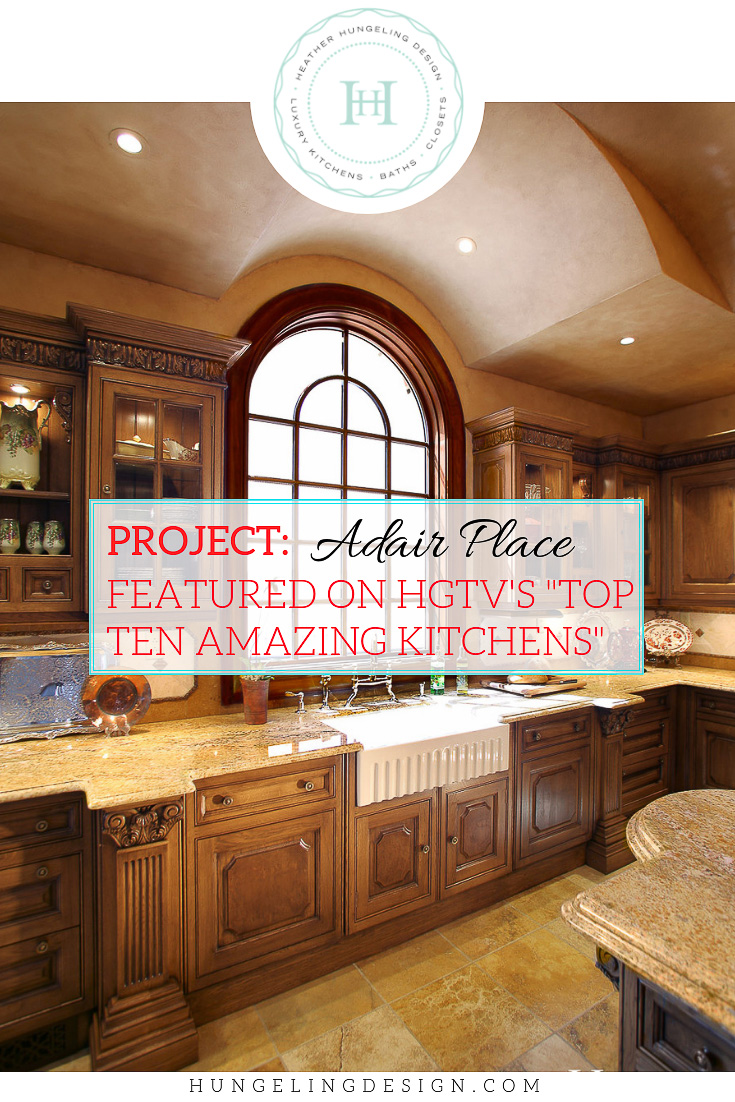 """A tale of perseverance on the part of the homeowners as they sought to build their amazing dream home on the banks of the Tennessee River. They went through five kitchens prior to contacting my firm and finally pursuing their dream of having a luxury Clive Christian kitchen. Featured on HGTV's """"Top Ten Amazing Kitchens."""""""