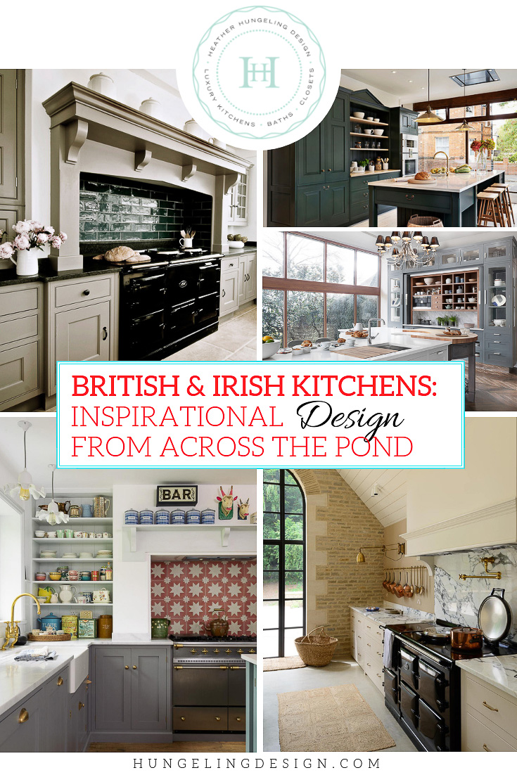 It's no secret that Americans are enamored with English kitchens. After all, having an authentic, bench-made English kitchen is still the ultimate luxury item for high-end homes. However, across the pond, the British have a particular love for bespoke, name-brand kitchens. While each one of these brands brings a unique touch to their product line, there are some overarching design features that are dominating the British cabinet market right now. I thought it would be fun to share these details with you in this week's post.  #luxurykitchens, #englishkitchens, #kitchendesign