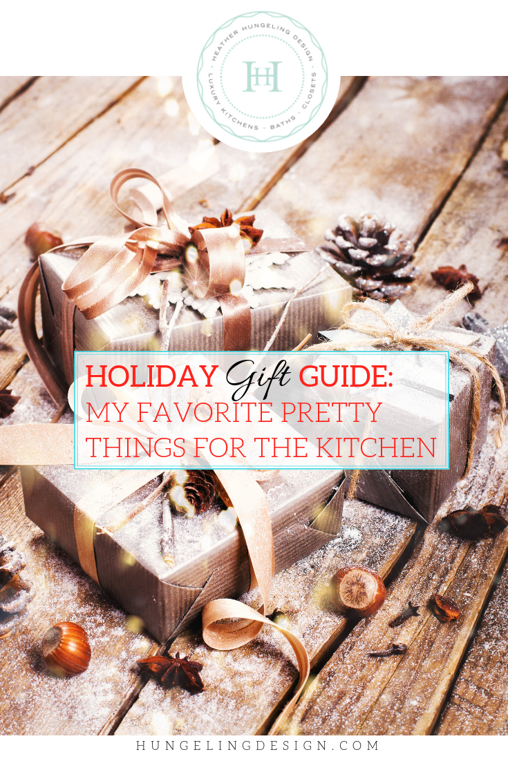 Luxury Kitchen Designer's first annual shopping guide. Filled with beautiful and practical gift ideas for the kitchen.