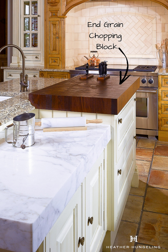 When considering wood countertops for your kitchen, it is essential to distinguish between End Grain and Side Grain construction. The former is well-suited to cutting, making it perfect for wood chopping blocks.