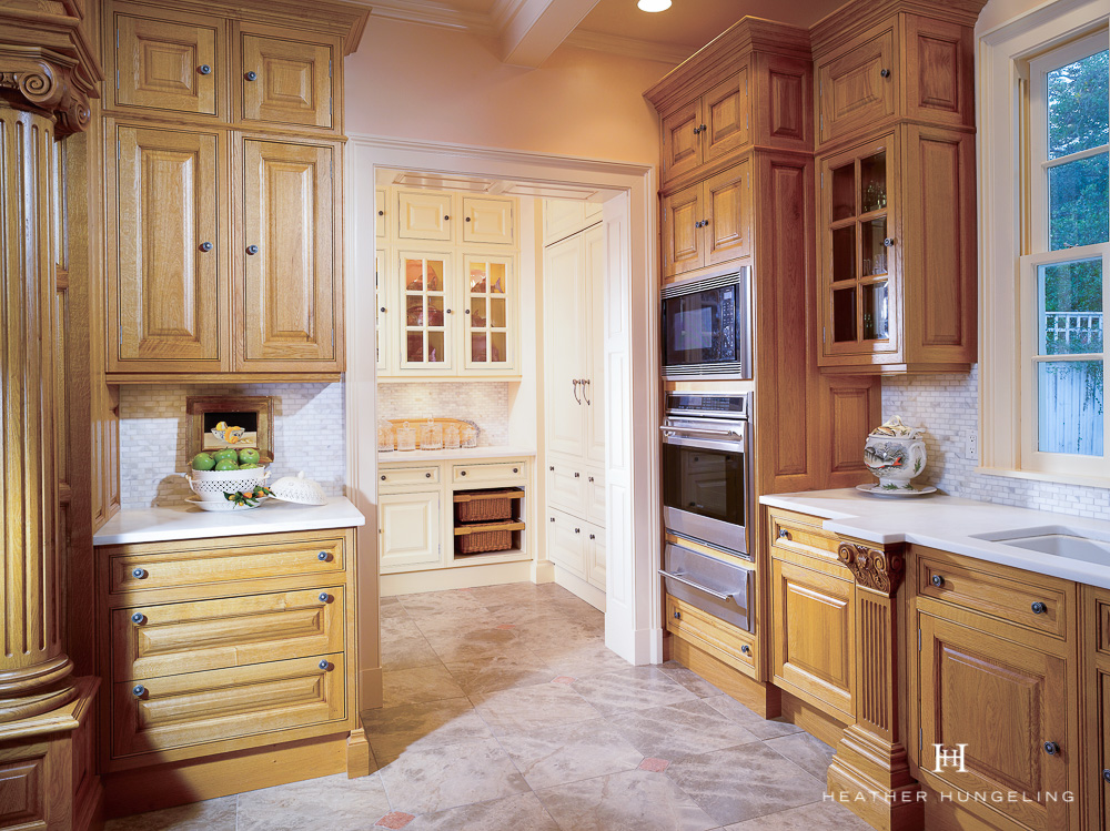"Luxury kitchen design principle #2: luxury kitchens benefit from having ancillary support rooms. We used to think of them as ""butler's pantries"", but now they've become so much more - each one highly customized to the needs of the particular homeowner.  #luxurykitchens, #kitchendesign, #clivechristian, #luxurykitchendesigner"