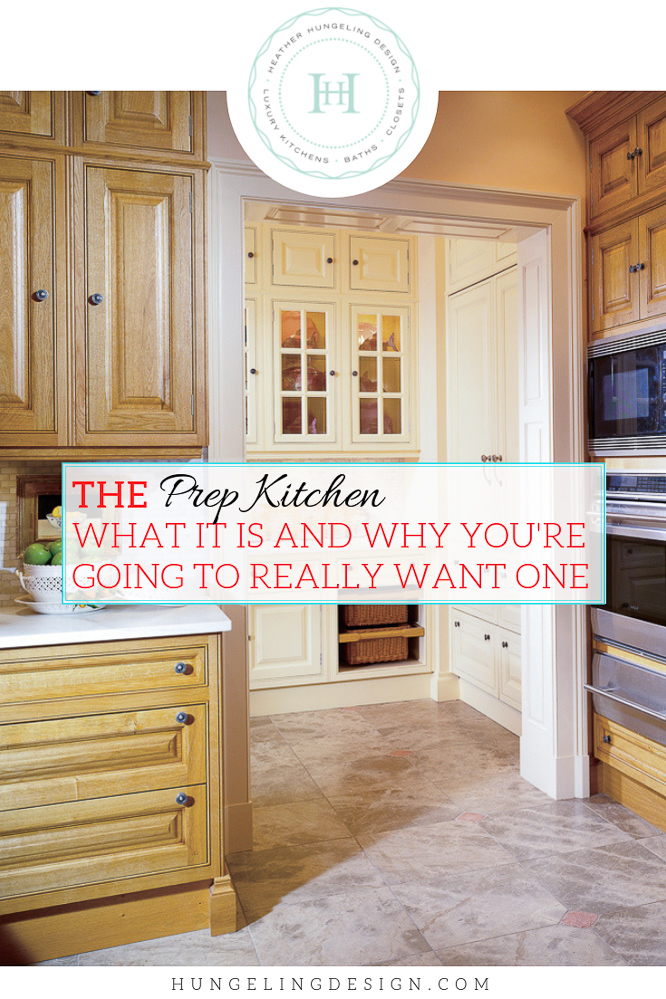 Having a prep kitchen can solve a lot of kitchen design dilemmas. In today's post, I'm going to show you why this should be on the top of your wish list for your next home or remodel.  #kitchendesign #luxurykitchendesigner #butlerspantryideas #kitchenlayouts