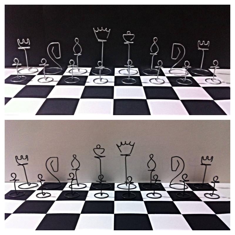 Minimilastic chess set