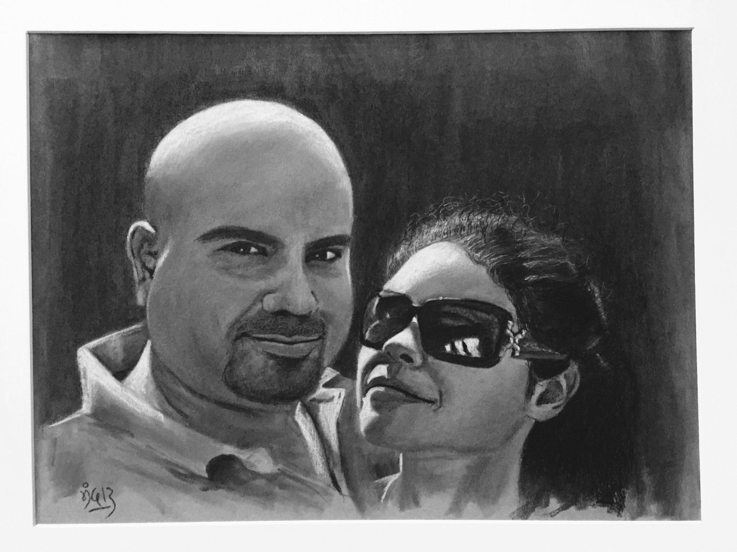 Jenny & her dad