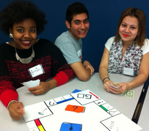 Destiny, Carlos, and Keyla present fast food worker rights.