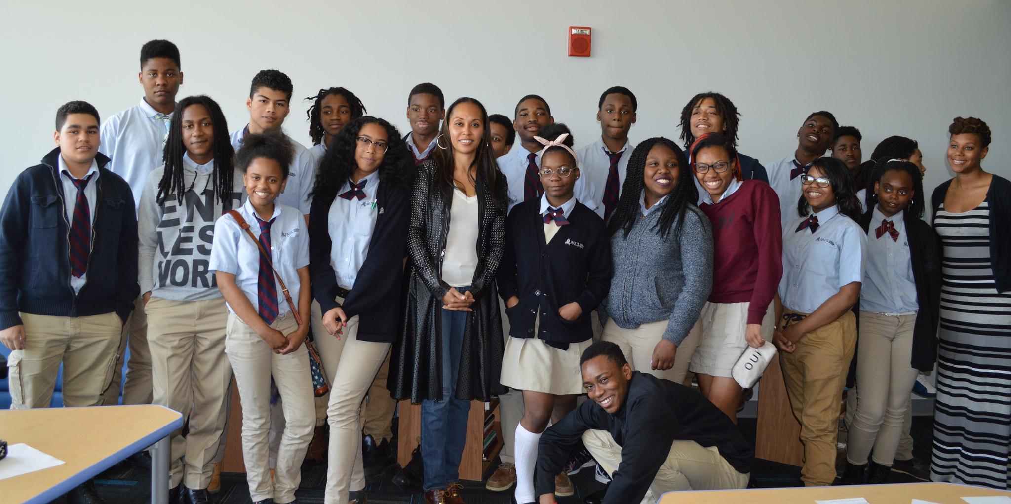 Kimberley Motley and students. Click photo to see full album.
