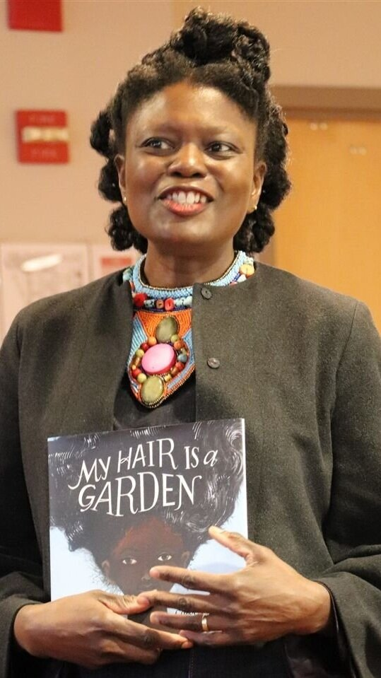 My Hair is a Garden  author Cozbi A. Cabrera.