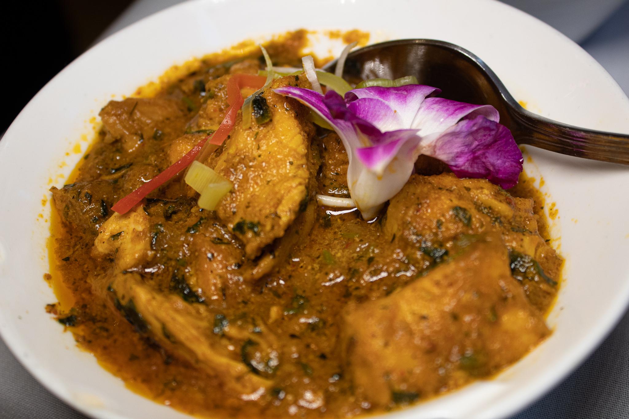 METHI CHICKEN - fenugreek curry