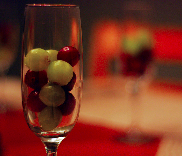 Spain:Eating twelve grapes  - This superstition, rumored to bring good luck in the New Year, is brought to us by the Spaniards. The tradition is to eat 12 grapes in 12 seconds at midnight, which seems marginally more feasible than the yellow underwear proposition.
