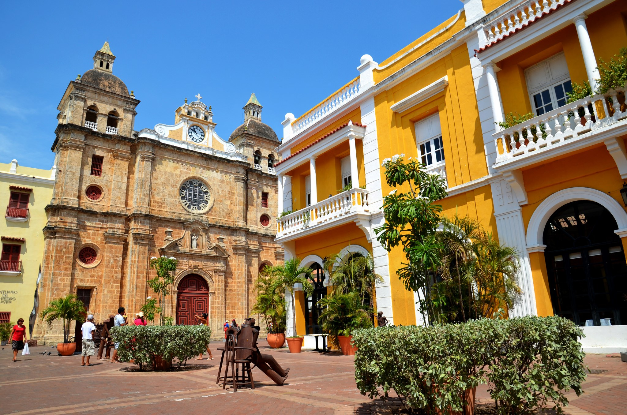 3. Cartagena,Colombia - This port city situated on Colombia's Caribbean coast offers the best of both worlds (or vibes, to quote Drake once again)the Latin flavor of South America with the tropical ambiance of the Islands.The walled Old Town has enough charming cobblestone to rival the streets of Rome, and the lush beaches of Isla de Barúand the Islas del Rosario are a mere boat ride away.