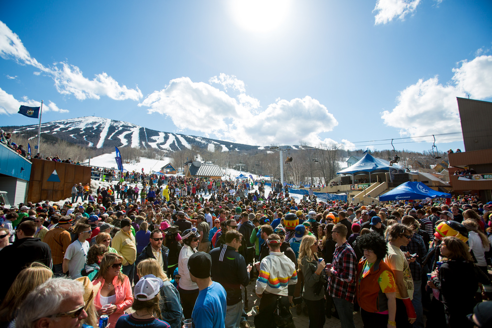 Reggae Fest - Where: Sugarloaf, MaineWhen: April 12th-15thWhat:End the ski weekend on a high note at Reggae Fest in Sugarloaf. The weather will be slightly less frigid, and after a beer or four, maybe you can convince yourself you're in the Caribbean rather than Maine. Good luck.
