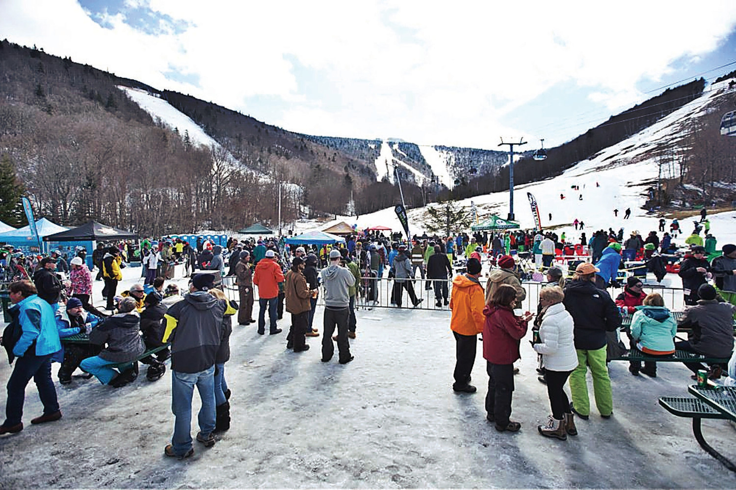 Vermont Brewers Festival - Where: Killington, VermontWhen: March 24What: For the first year ever, Killington will be hosting the Vermont Brewers Festival at the base of the K-1 lodge. Thirty breweries will be represented, so we're sure you'll find a way to keep warm.
