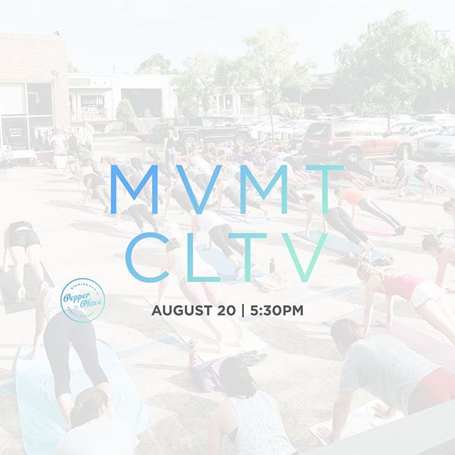 Mark your calendars! 💫🎊 The next MVMT CLTV is at @pepperplacebham on August 20! We're bringing women together to empower one another, stay healthy, and try new things. Join us for a night of sweat and connection with @ignitecyclebhm, @aerojoepilates, @mpowerbhm, @true40bham_downtown, @true40bham_cahaba , @resolute_running, and @elevenelevenclothiers. Head to the link in our bio to purchase your ticket and join the fun!