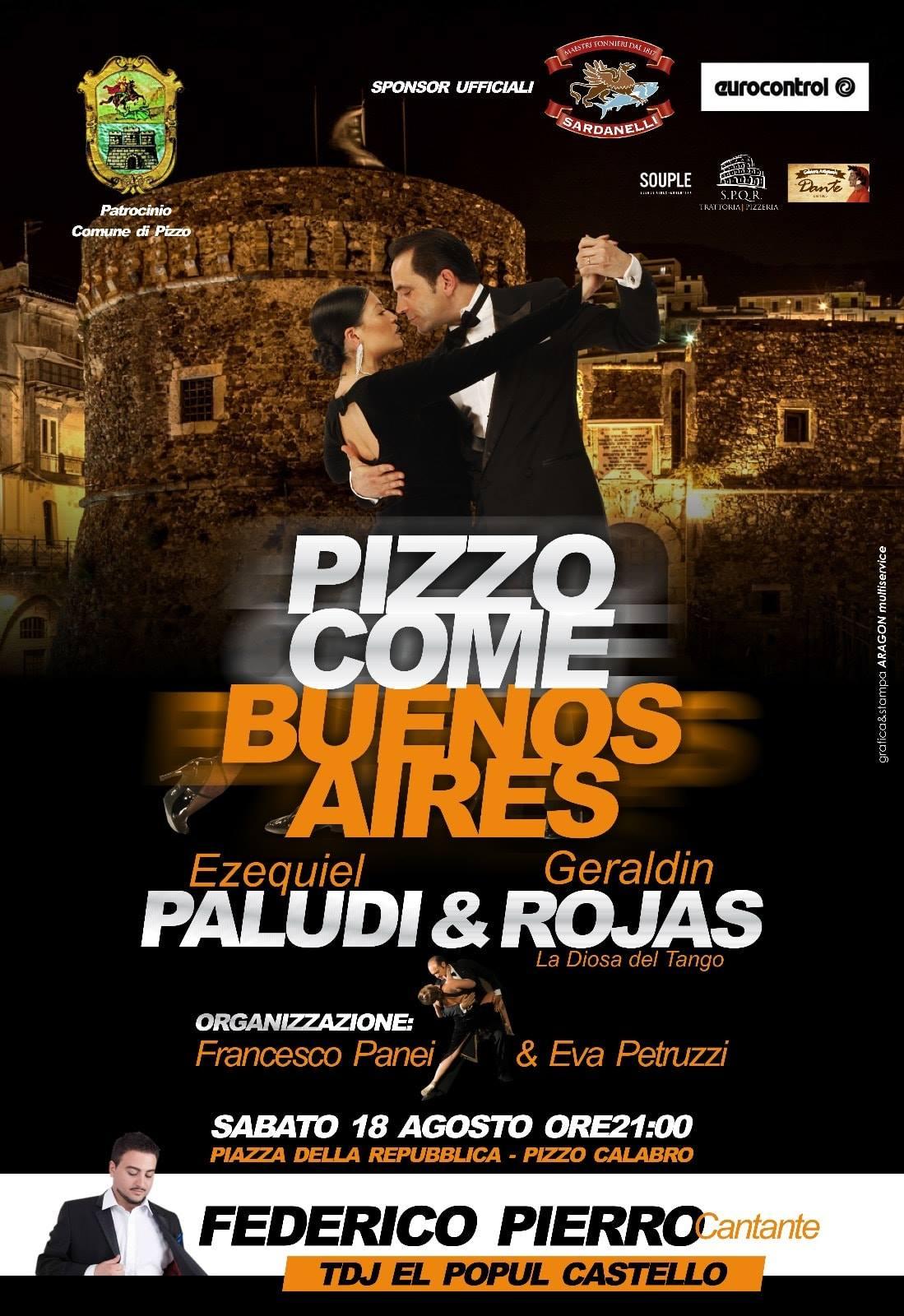 Pizzo como Buenos Aires