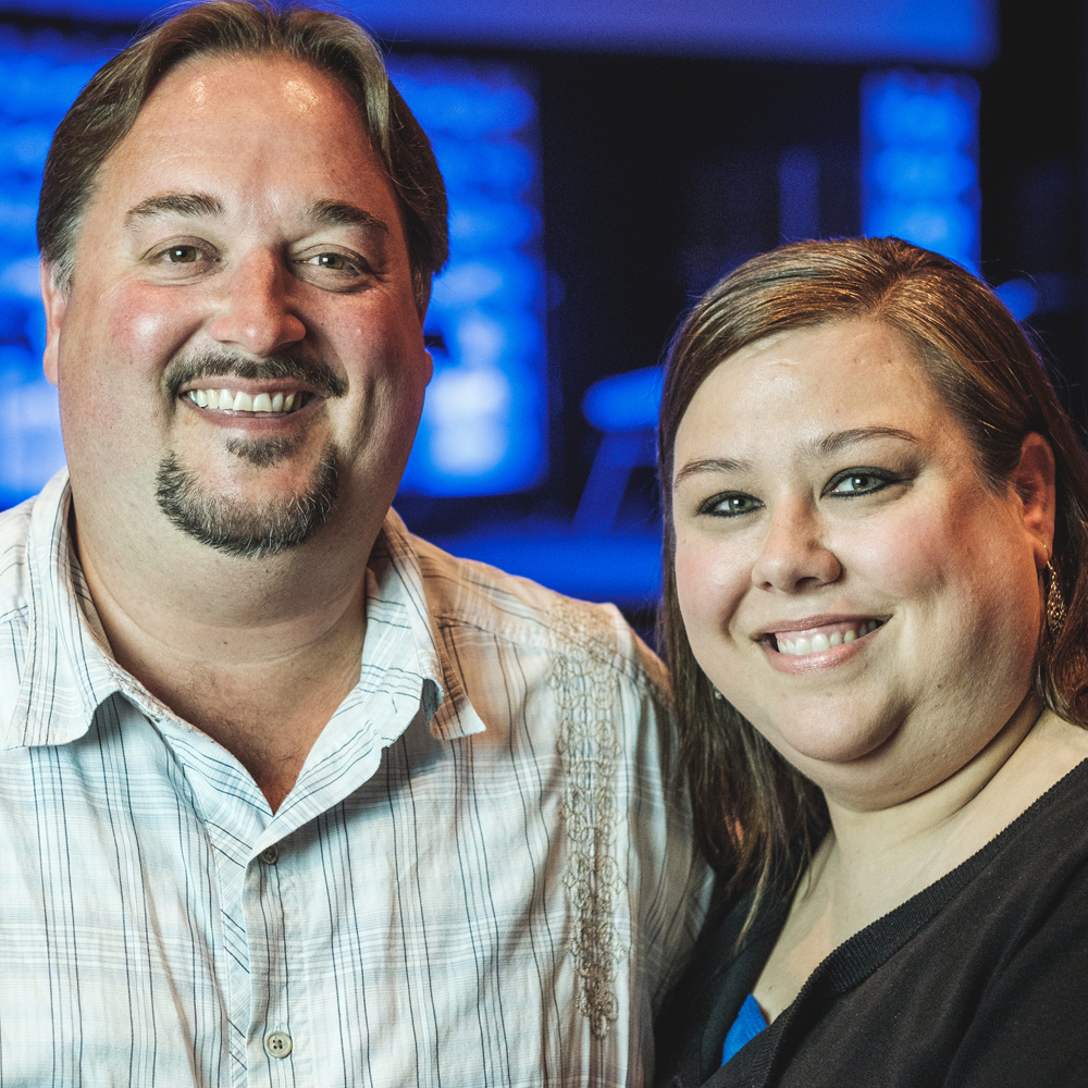 Eric & SABRINA FLOYD - Bowling Kinnect Leader