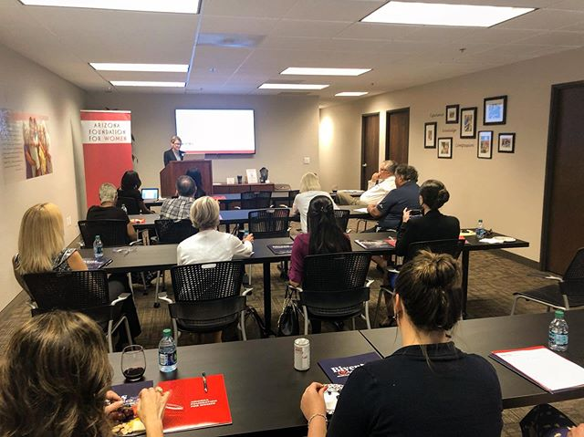 Thank you to all who attended the presentation on Charitable Giving Trends last night at Bivens & Associates!  Andrea Claus, Rea Mayer and our own Mesha Davis put on an incredibly informative education session with some powerful takeaways.  Thank you to the entire Bivens & Associates team for setting up such a beautiful event!