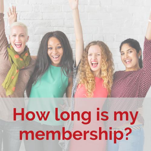 How long is my membership?