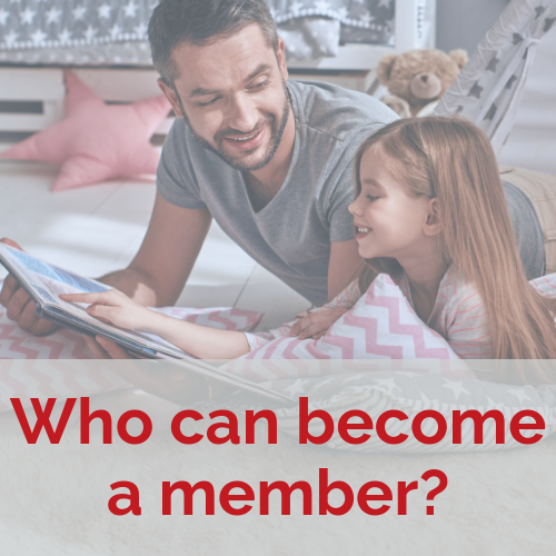 Who can become a member?