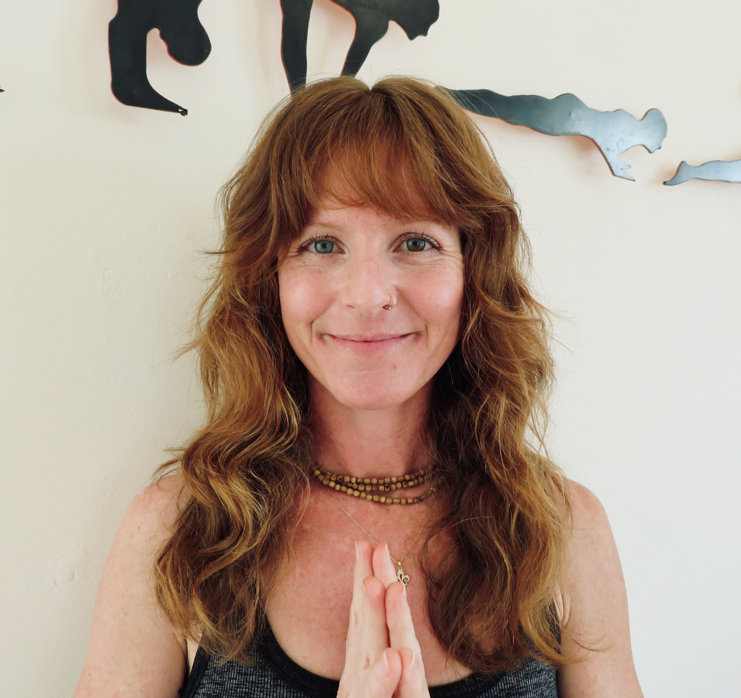 """Mary Kate  Mary Kate (RYT 200 Vinyasa & RYT 200 Kundalini) had the great fortune of beginning her yogic journey at age 22 when she met her spiritual teacher, Gurudass Kaur, while living in Barcelona.  She has been teaching yoga since 2007 throughout Northern California and internationally, predominately in West Africa. Drawn to """"the art of flow"""", MK completed her Vinyasa certification under the vast teachings of Iris Lambert. Grounded in breath and yogic tools, MK's classes offer a powerful rhythmic flow, helping students experience the Self and spirit. MK loves travel, music, nature and service. She is grateful to live in Sonoma County with her husband and daughter. For more information:  www.namastaymk.com"""