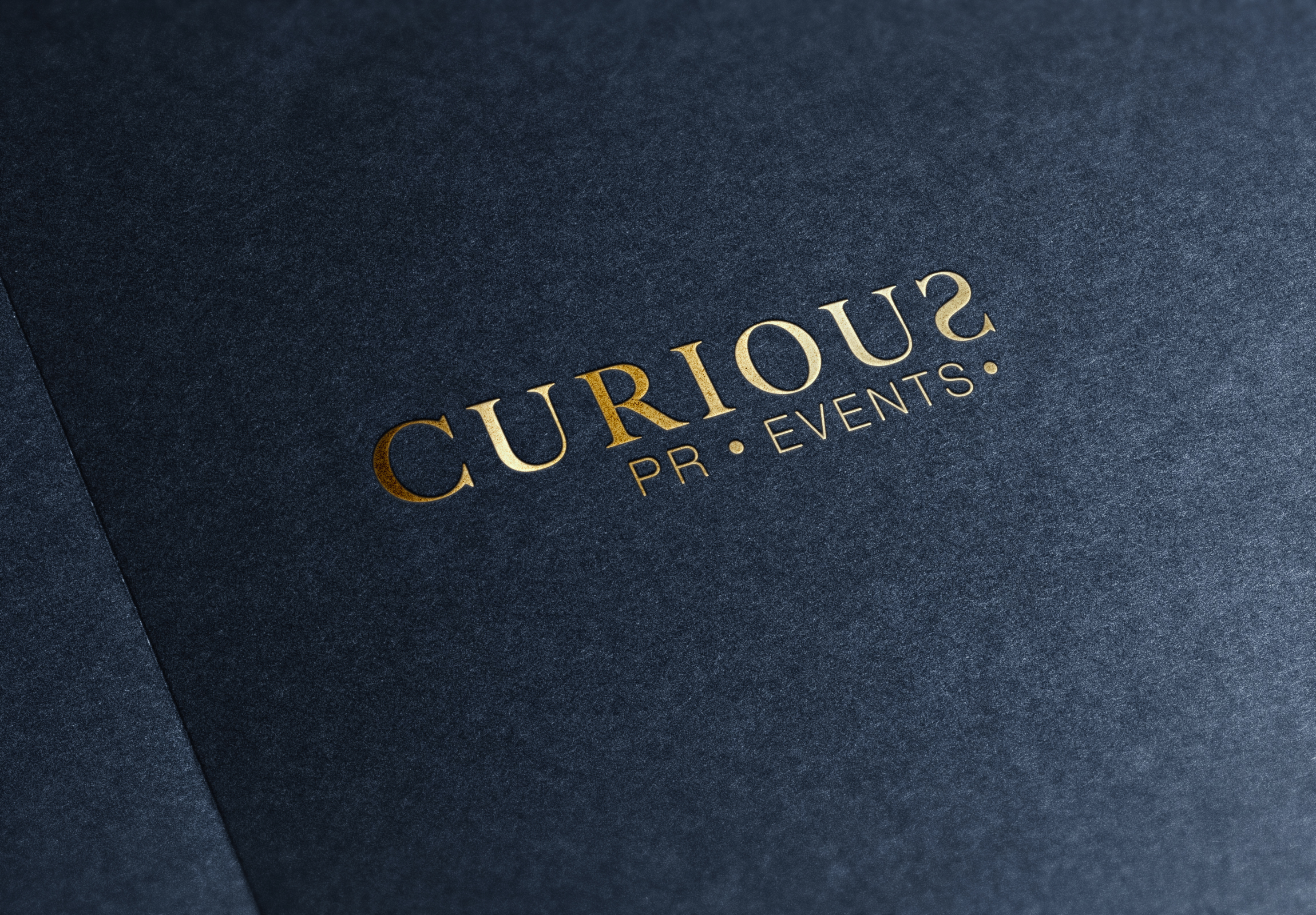 Farrah & Pearce - Curious PR and Events Logotype Printed Paper.jpg