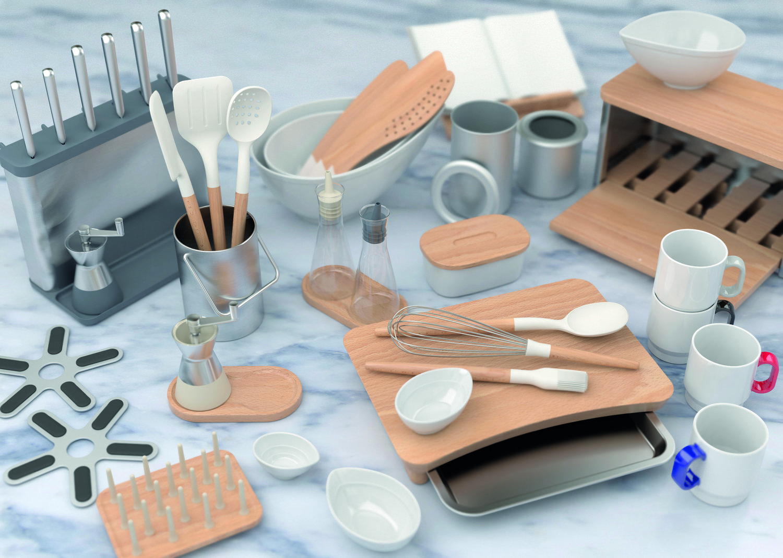 Farrah & Pearce - SCA - Universal Expert Kitchenware - Range shot Marble