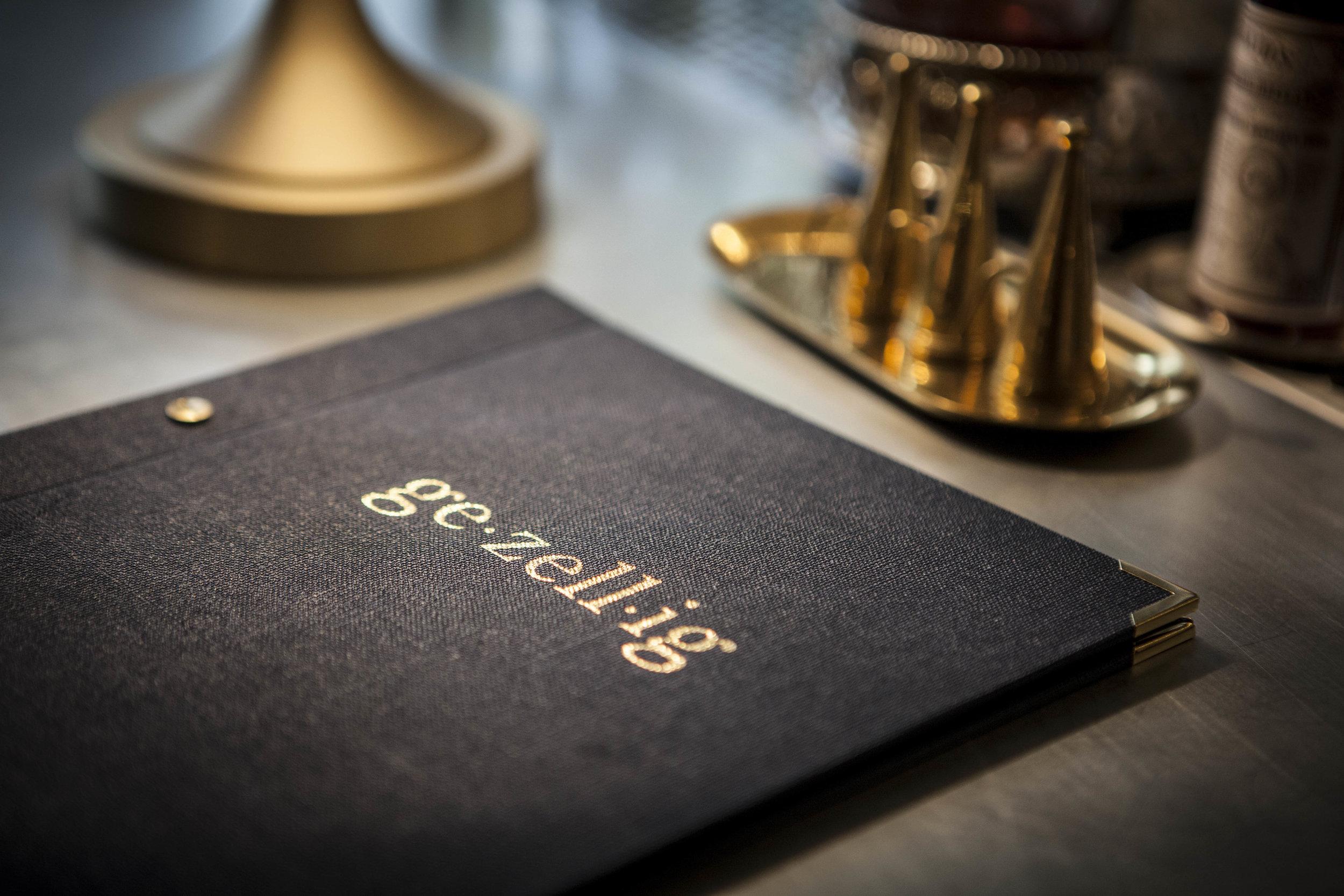 Gezellig - Restaurant Branding