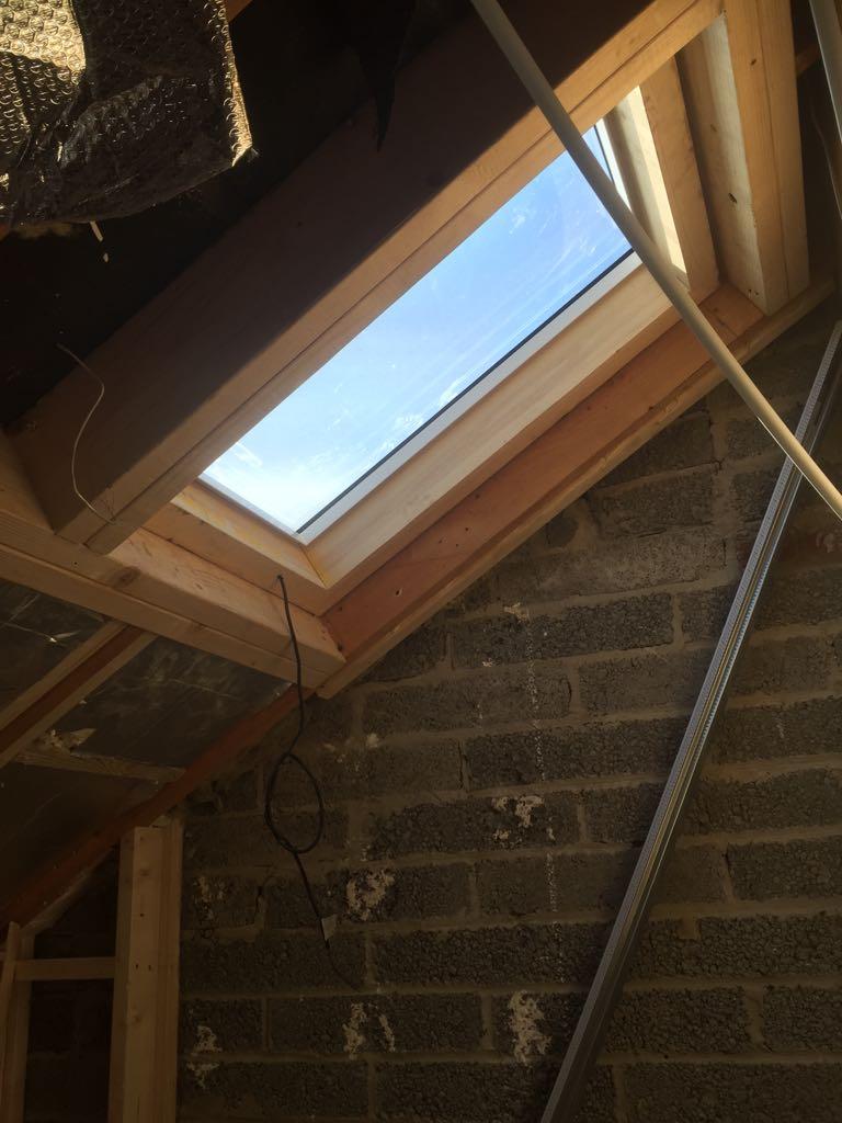 Loft window installation