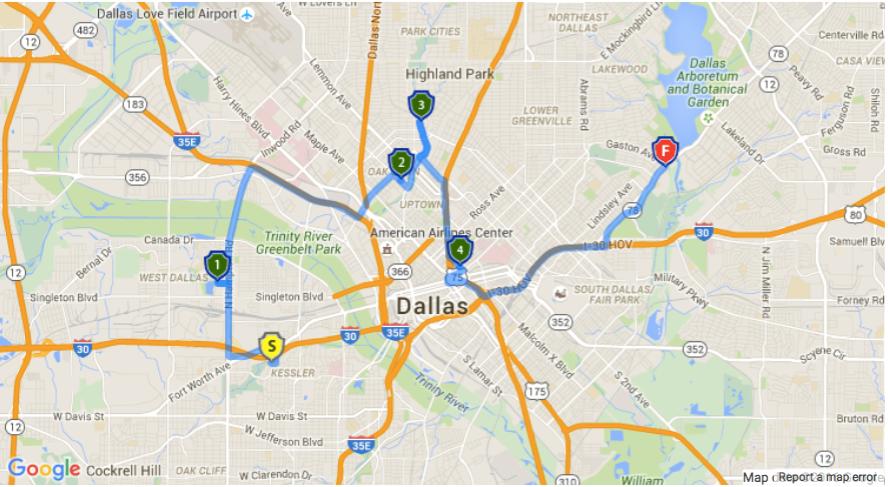 Hidden Dallas Tesla Rally Route.png