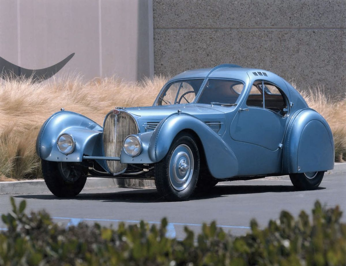 1936 Bugatti Type 57 SC Coupé Atlantic