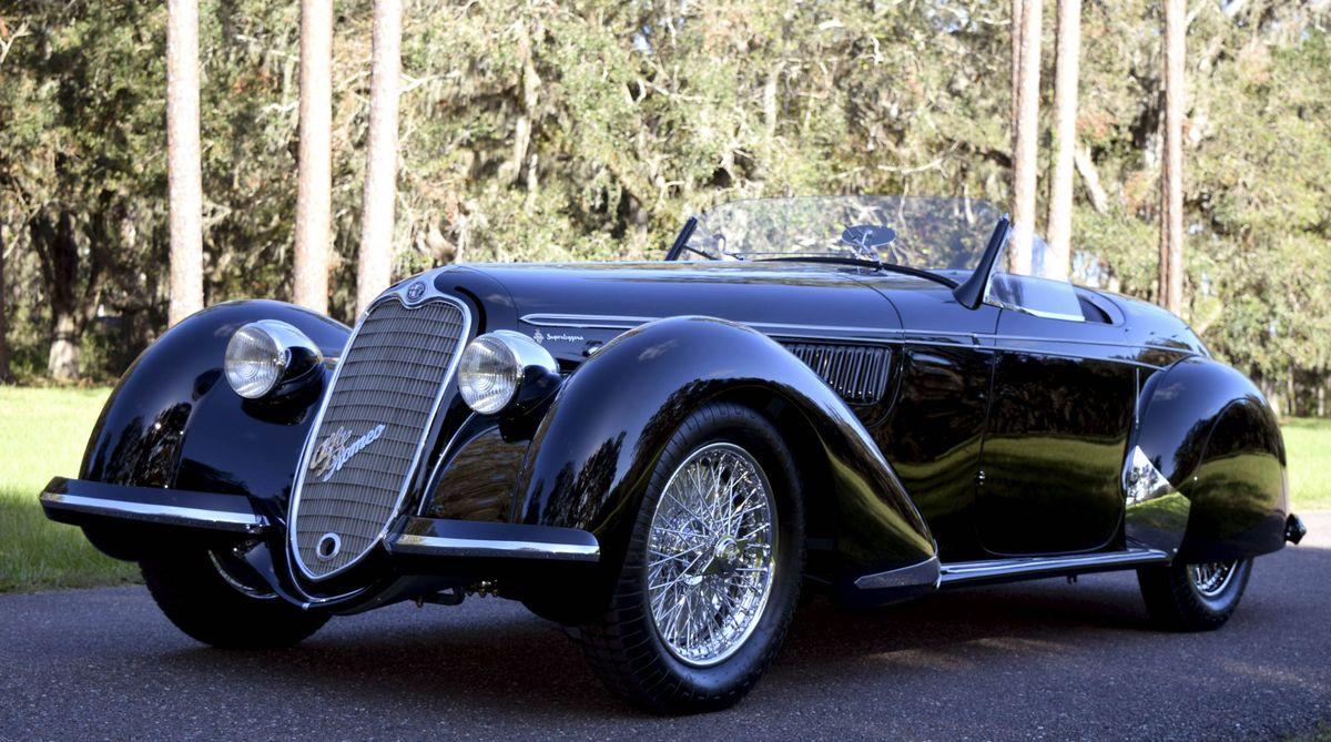 1939 Alfa Romeo 8C 2900B Spider