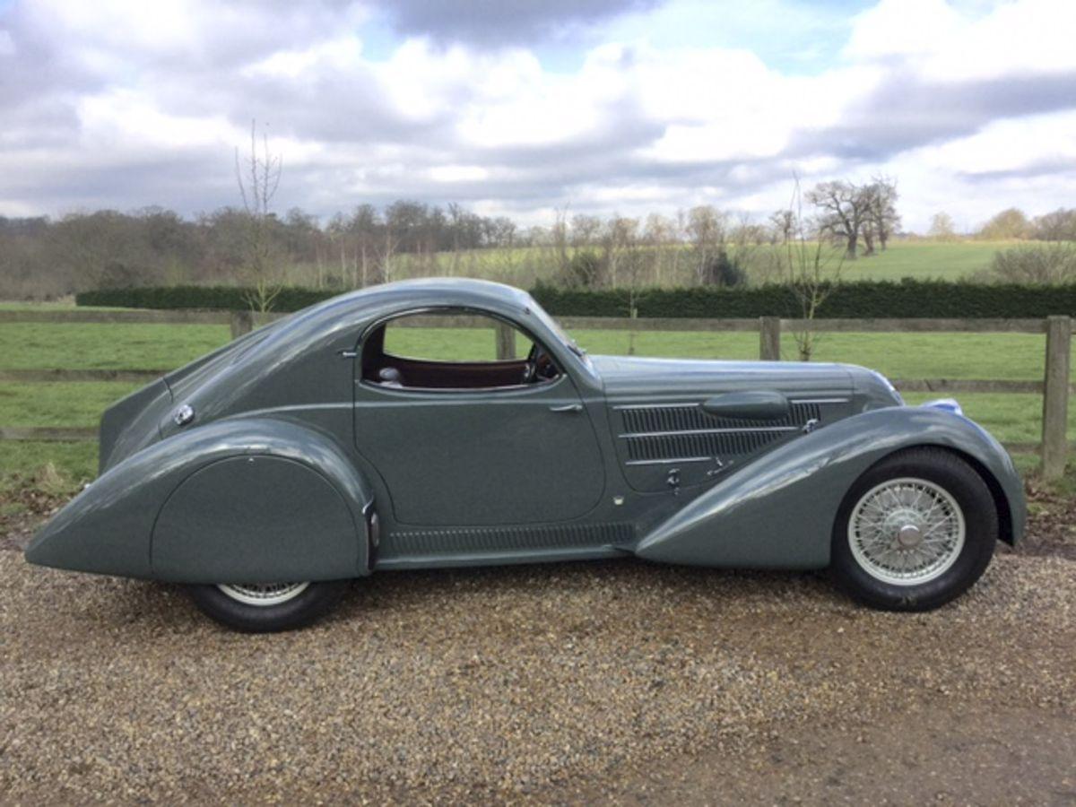 1933/35 Lancia Astura Aerodinamica Coupé