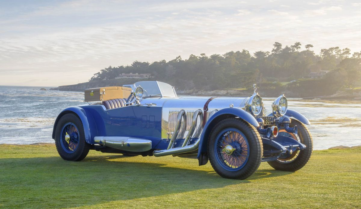 1929 Mercedes-Benz S Roadster