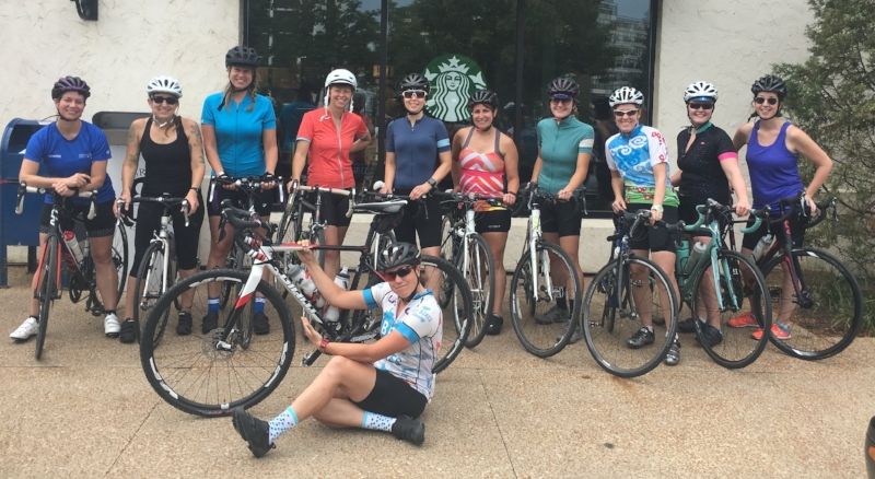 One of my favorite rides to lead is the Beginner Group Ride. Check the calendar of events and join me!