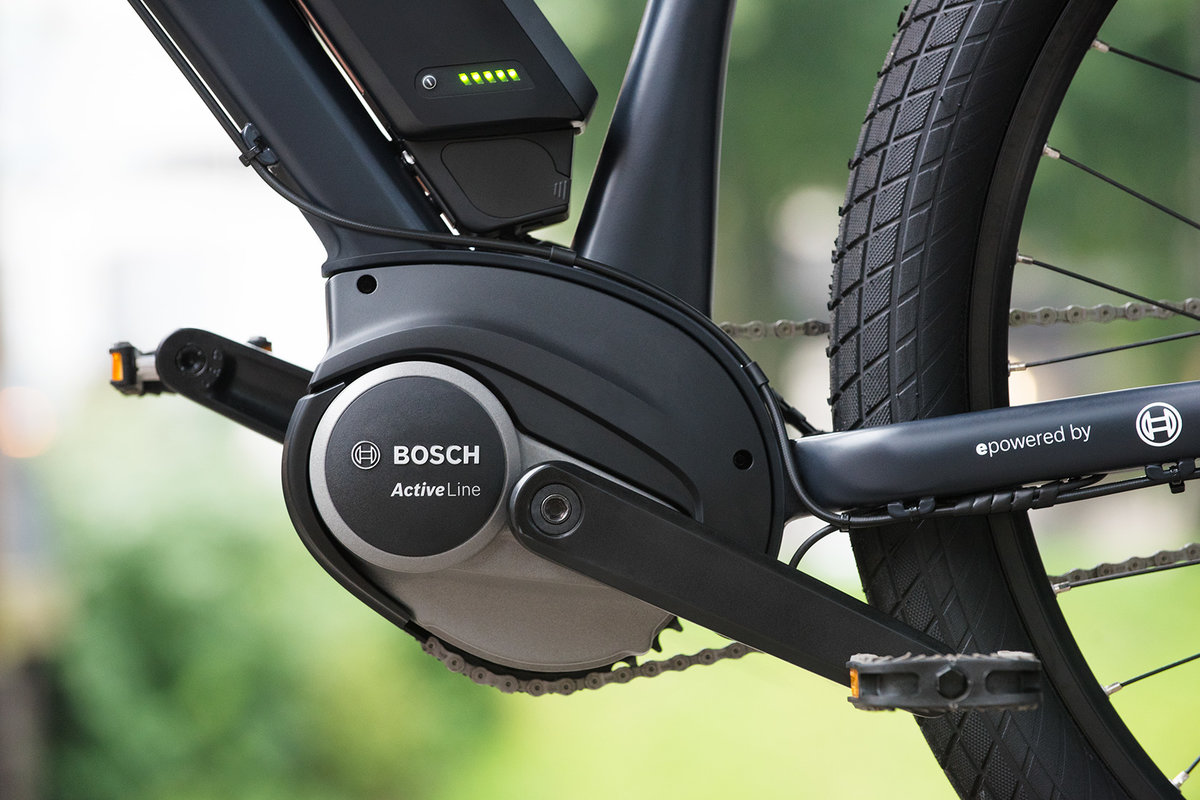 Bosch Active Line mid-drive