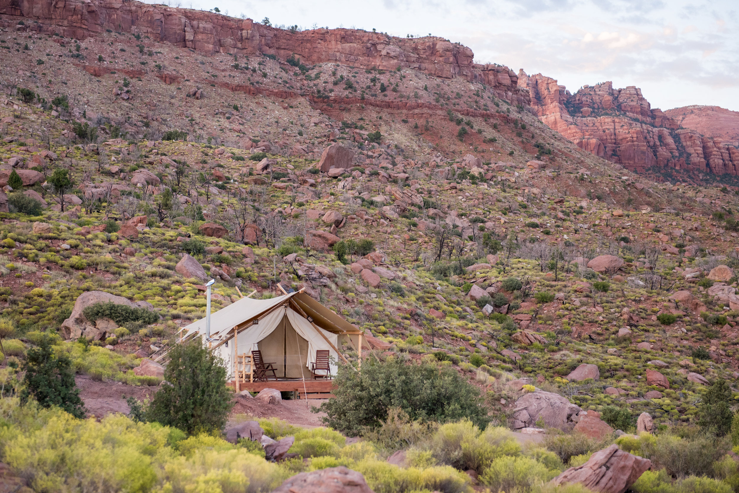 Under Canvas - Grand Canyon, Arizona