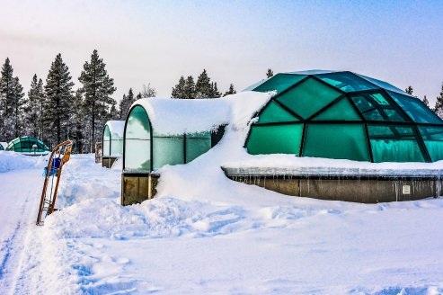 Kakslauttanen - Saariselkä, Finland