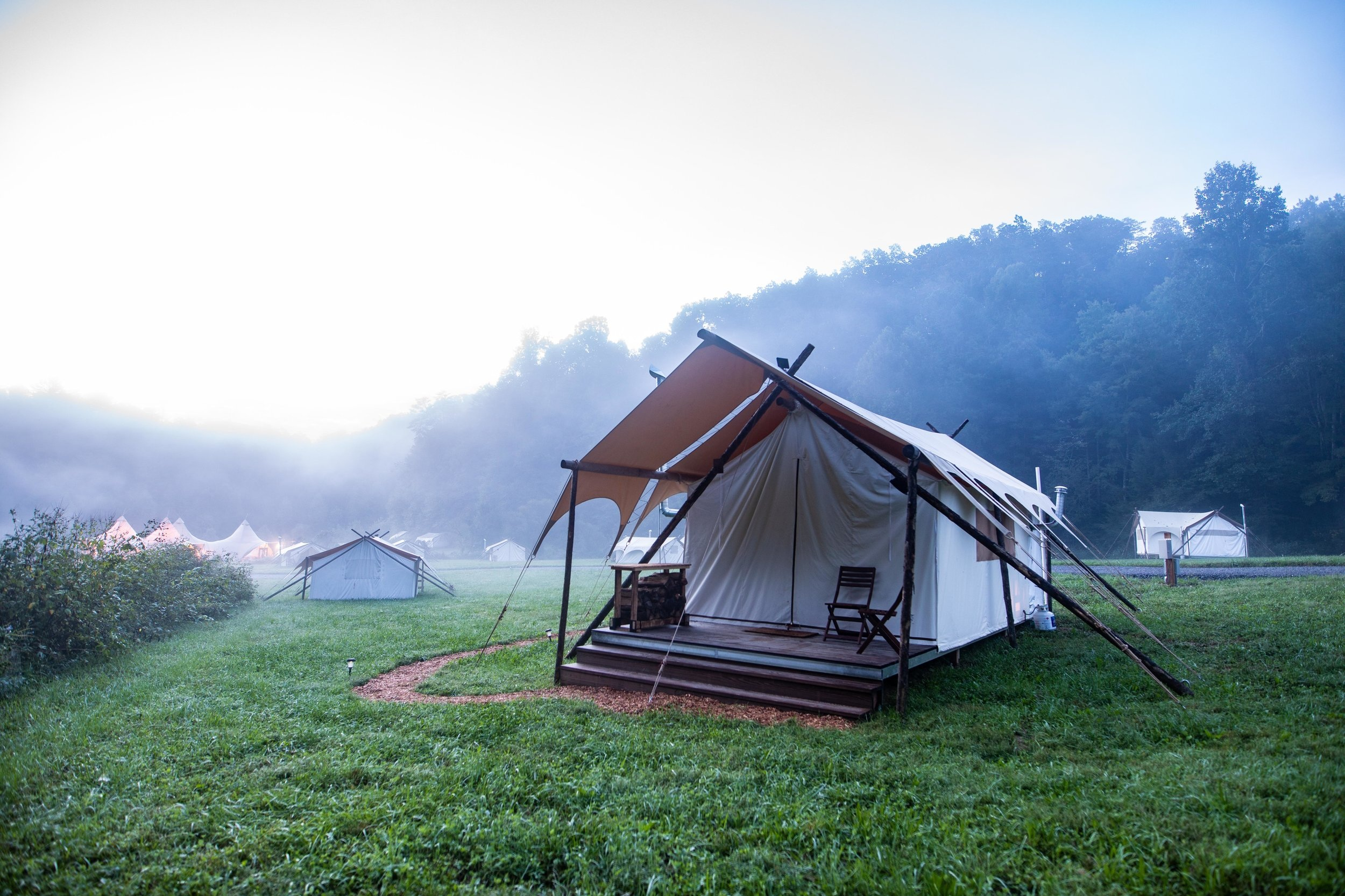 Under Canvas - Great Smokey Mountains, Tennessee