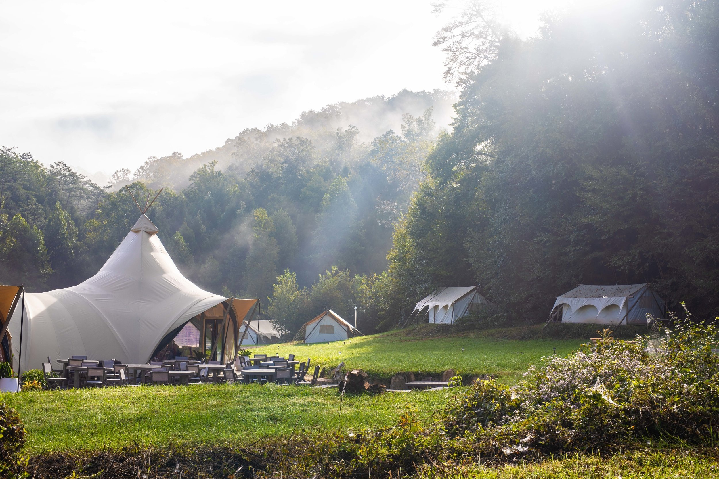 Copy of Under Canvas - Great Smokey Mountains, Tennessee