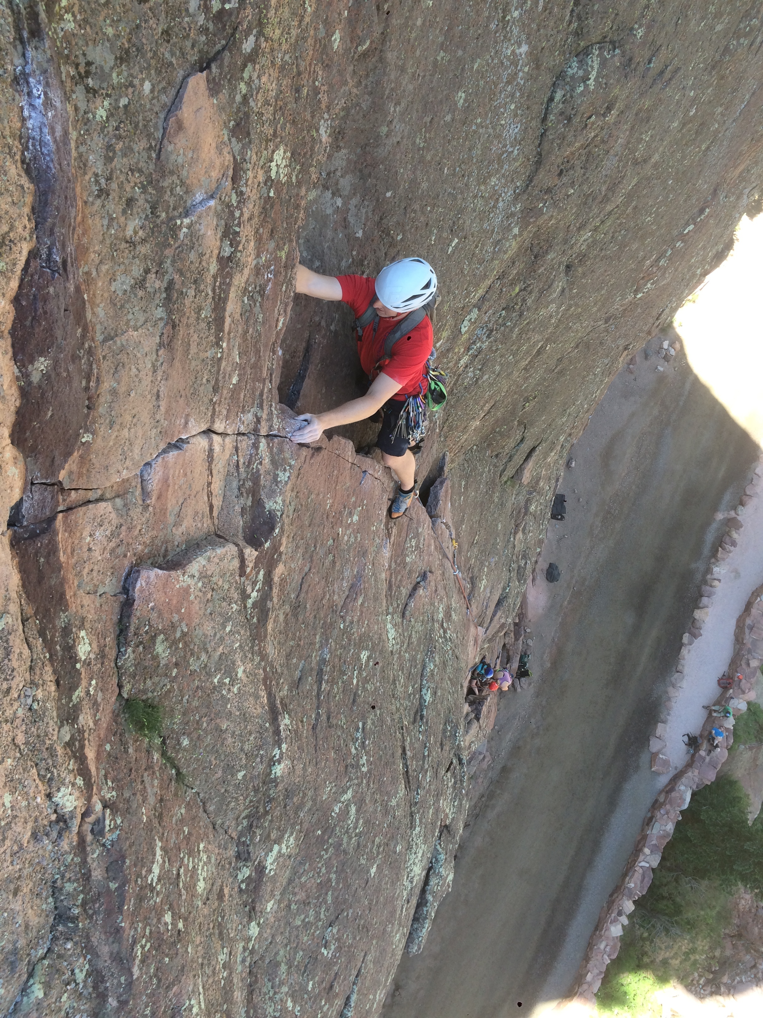 1st pitch of Bastille Crack