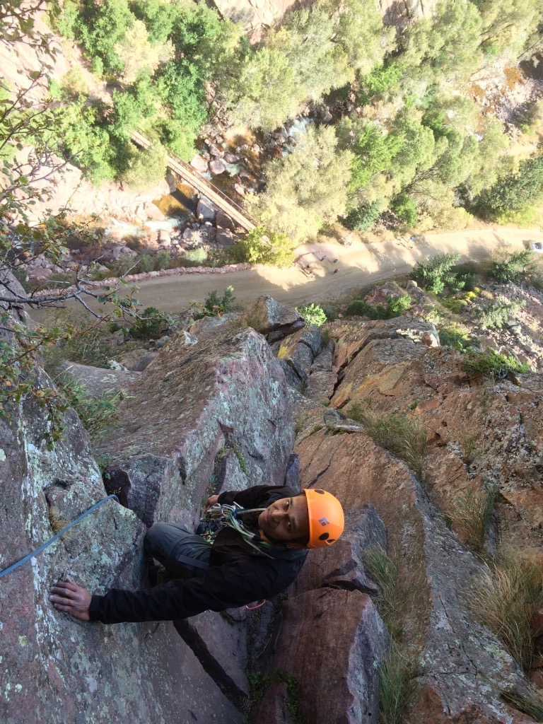 Belay ledge
